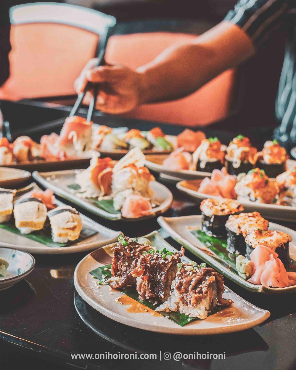 2 Review food makanan Nishimura restaurant Shangrila Surabaya Hotel Oni hoironi