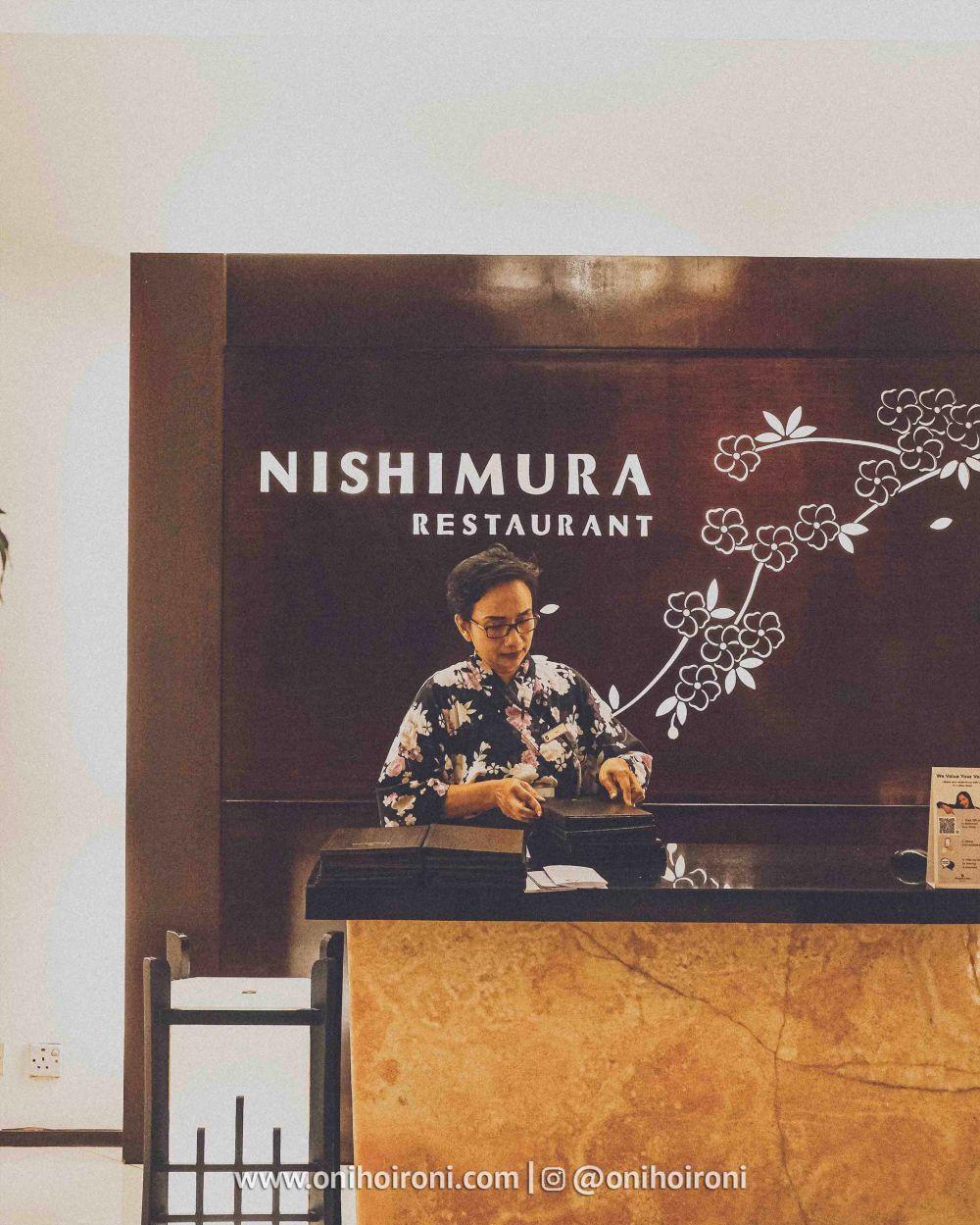 4 Review food makanan Nishimura restaurant Shangrila Surabaya Hotel Oni hoironi