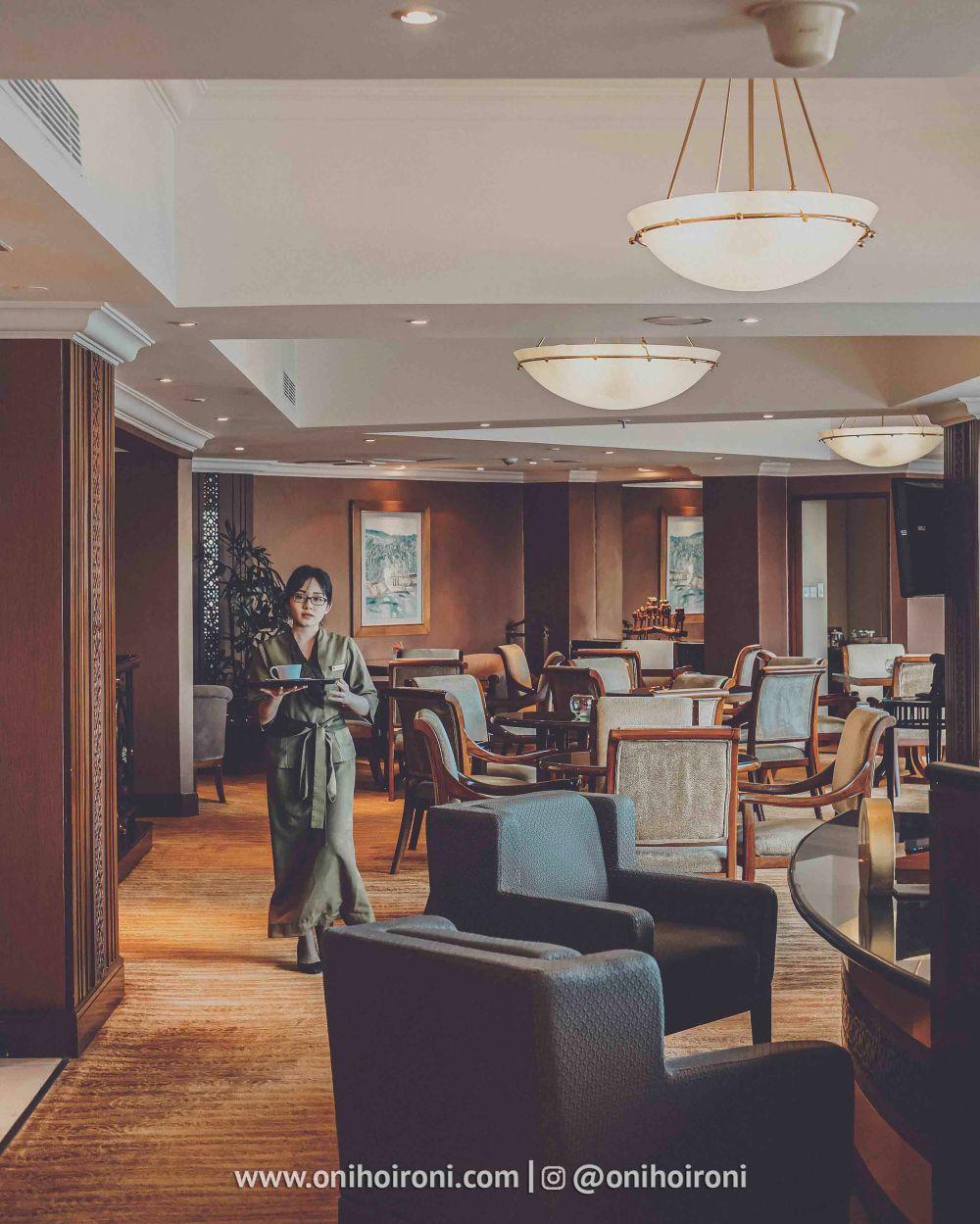 4 Review Horizon Club Lounge Shangrila Surabaya Hotel Oni hoironi