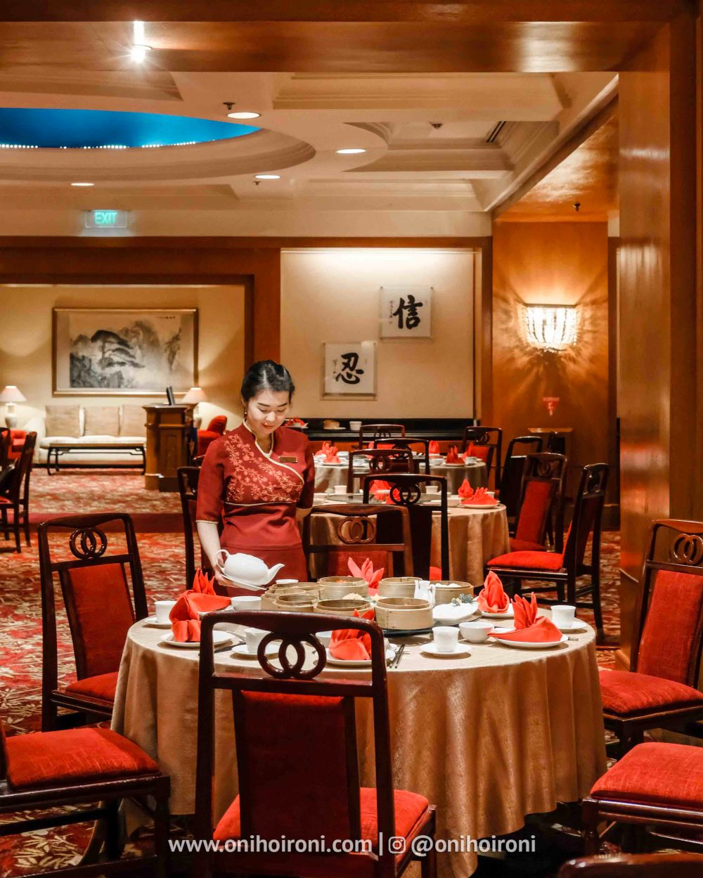 7 Review food makanan shang palace restaurant Shangrila Surabaya Hotel Oni hoironi
