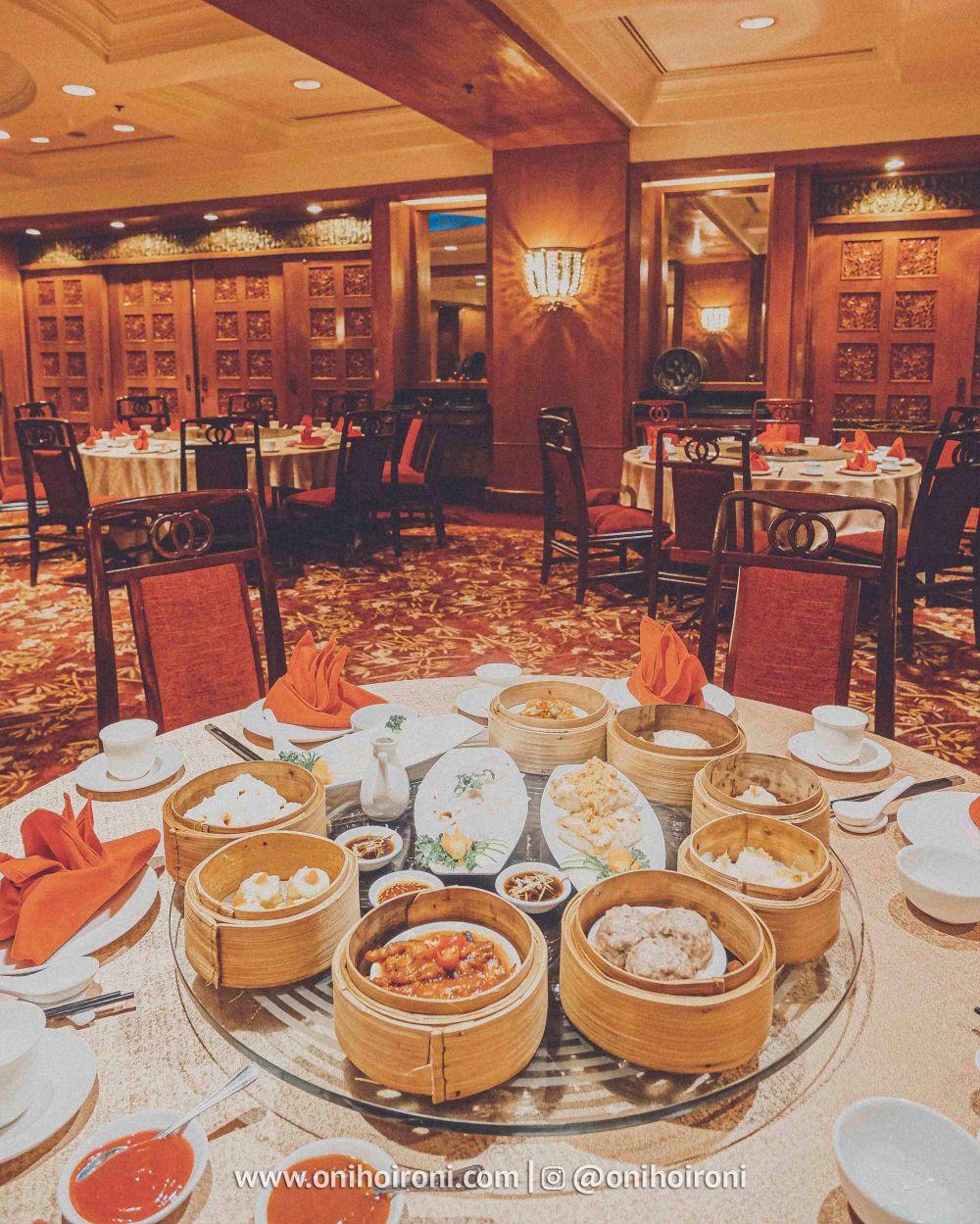 8 Review food makanan shang palace restaurant Shangrila Surabaya Hotel Oni hoironi