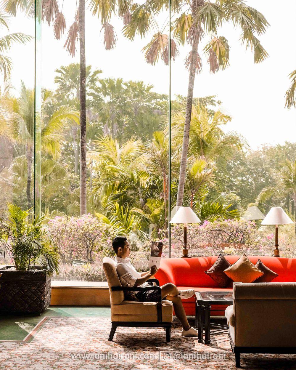 3 Review Lobby Shangrila Surabaya Hotel Oni hoironi