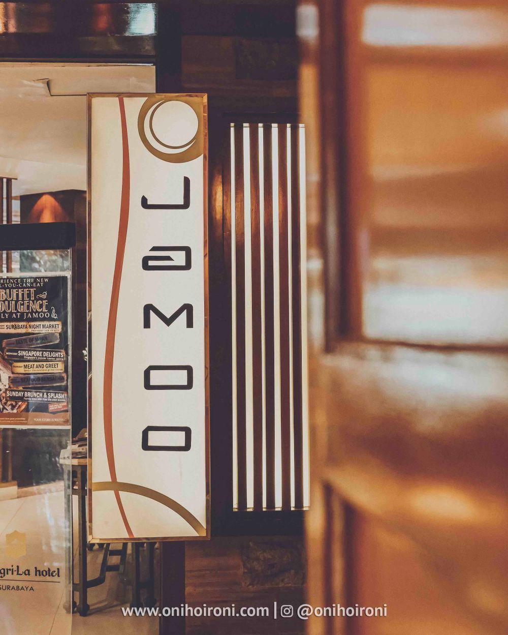 6 Review food Jamoo Restaurant Shangrila Surabaya Hotel Oni hoironi