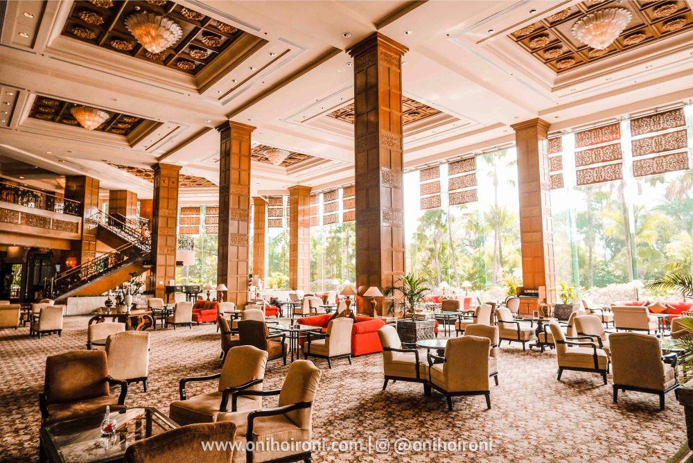 Review Lobby Shangrila Surabaya Hotel Oni hoironi