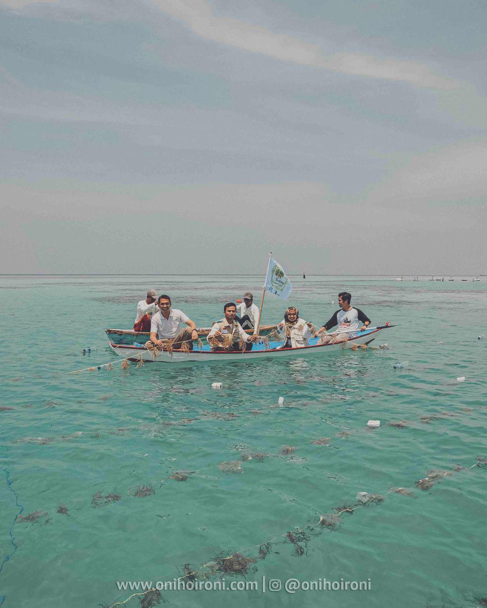 11 YBM PLN Rumput laut di kepulauan seribu oni hoironi