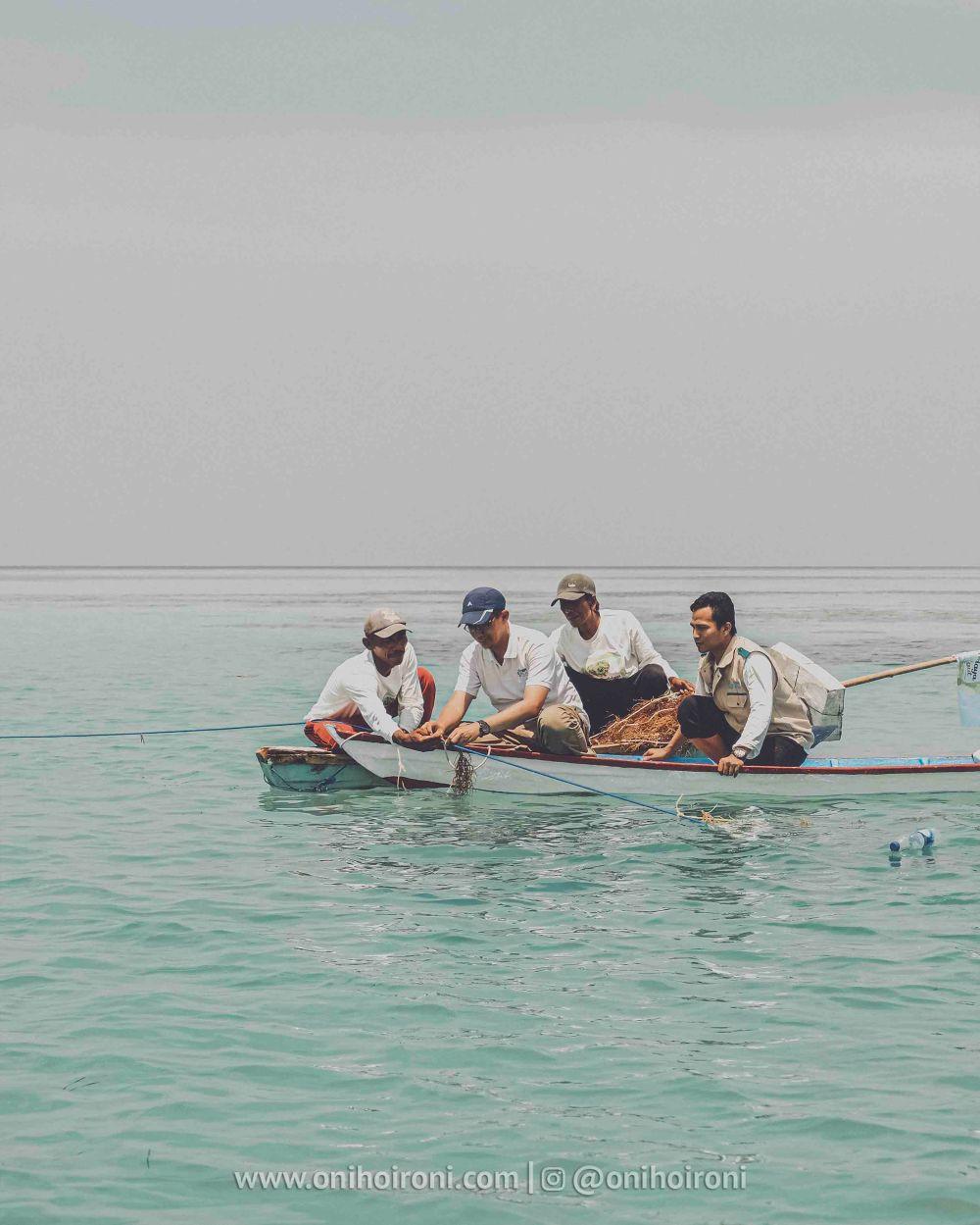 12 YBM PLN Rumput laut di kepulauan seribu oni hoironi