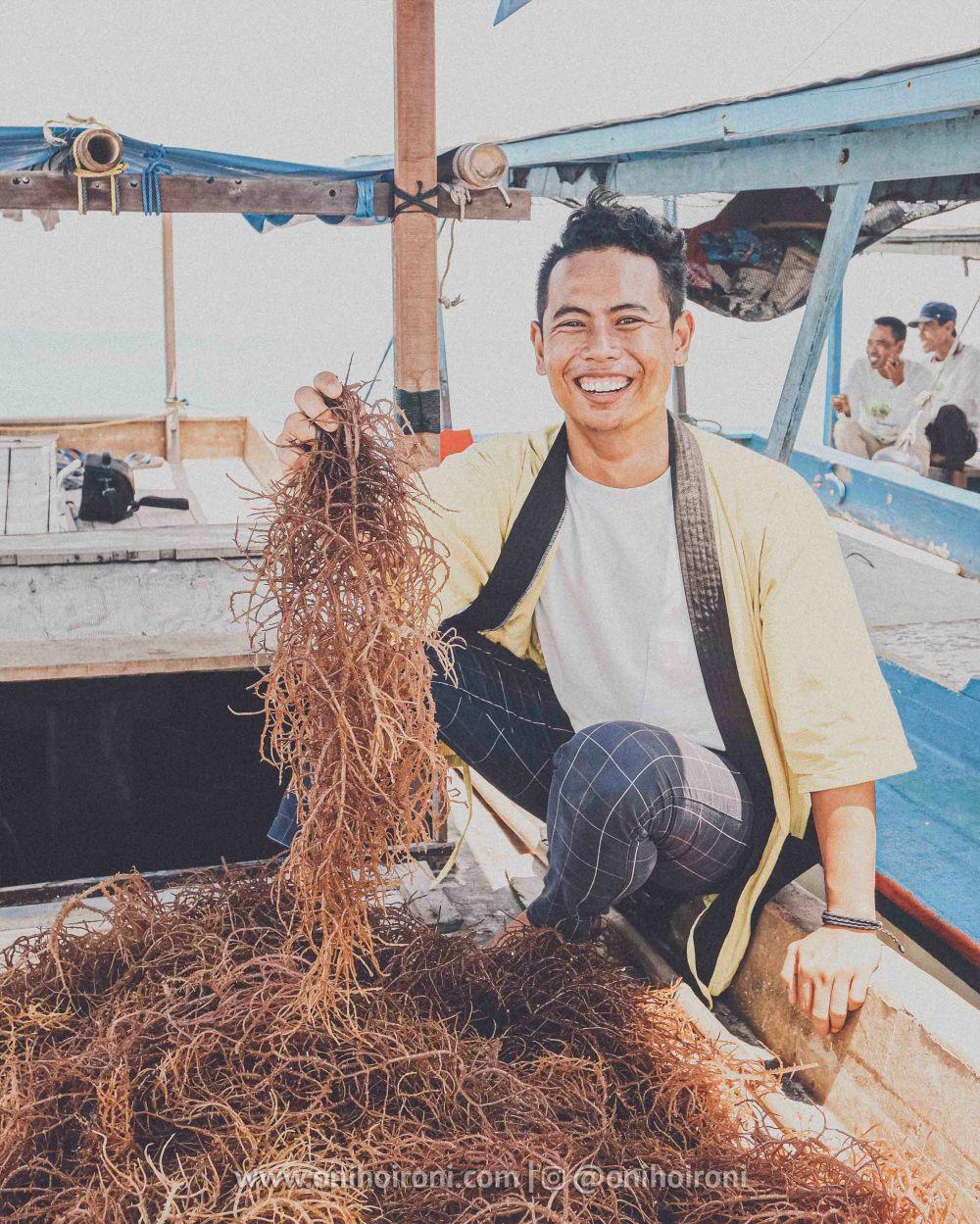 13 YBM PLN Rumput laut di kepulauan seribu oni hoironi