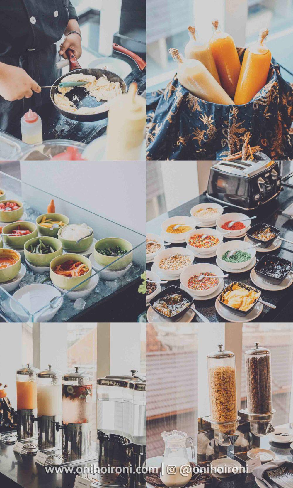 2 Sarapan pagi Restaurant whiz prime hotel maliboro review oni hoironi