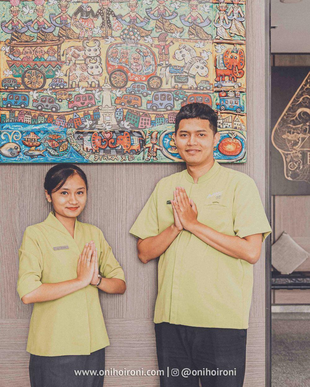3 Lobby Review Whize Prime Malioboro Yogyakarta oni hoironi