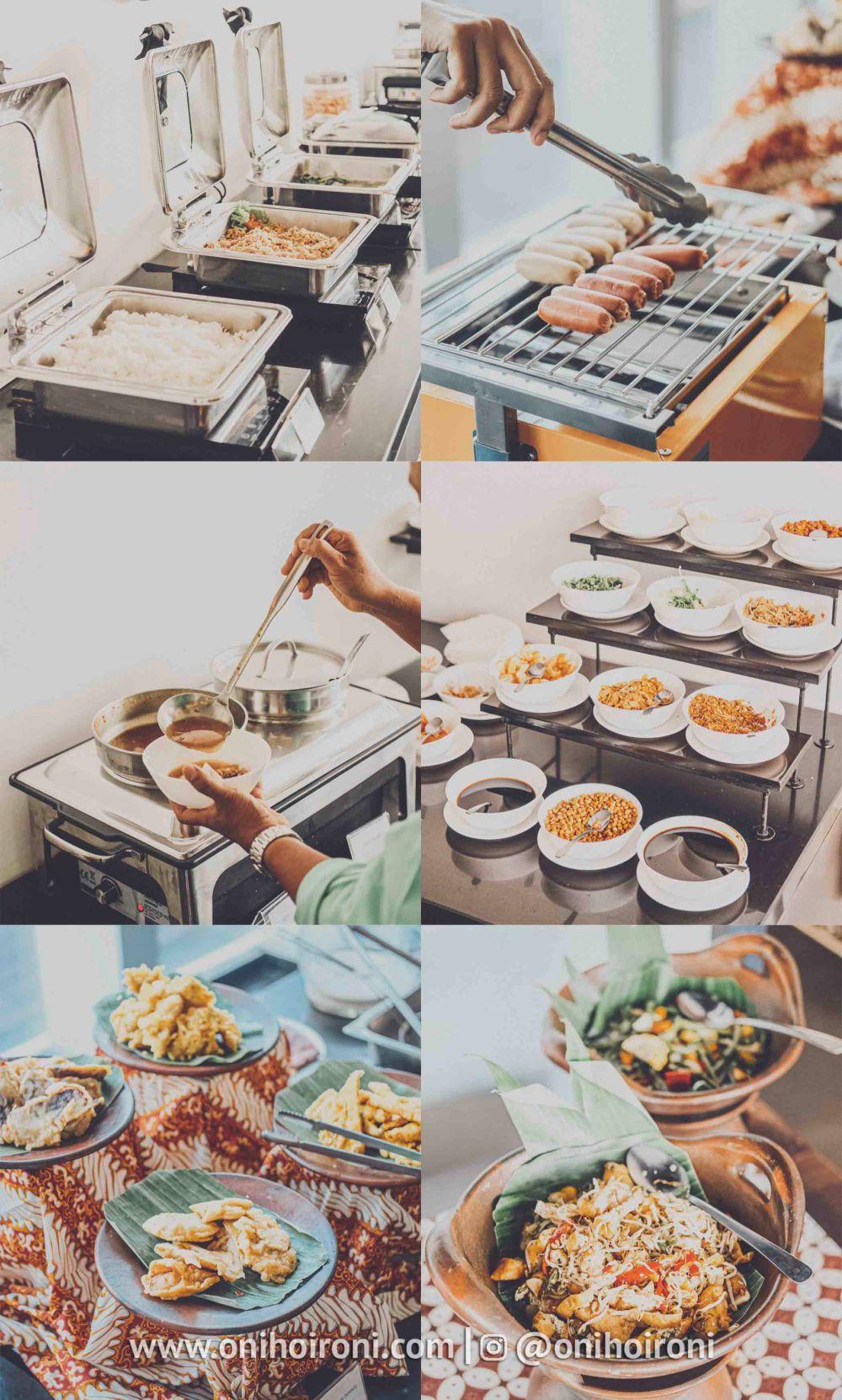 3 Sarapan pagi Restaurant whiz prime hotel maliboro review oni hoironi