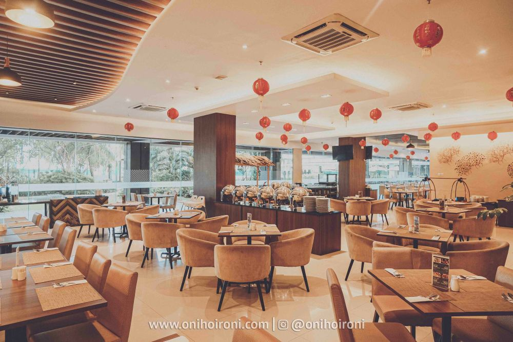 3 Restaurant Review Hotel Grand Whiz Poins Simatupang Jakarta oni hoironi