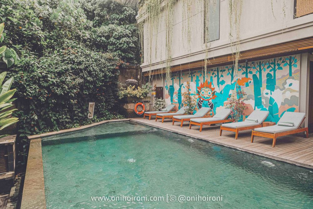 4 Swimming pool artotel haniman ubud bali oni hoironi