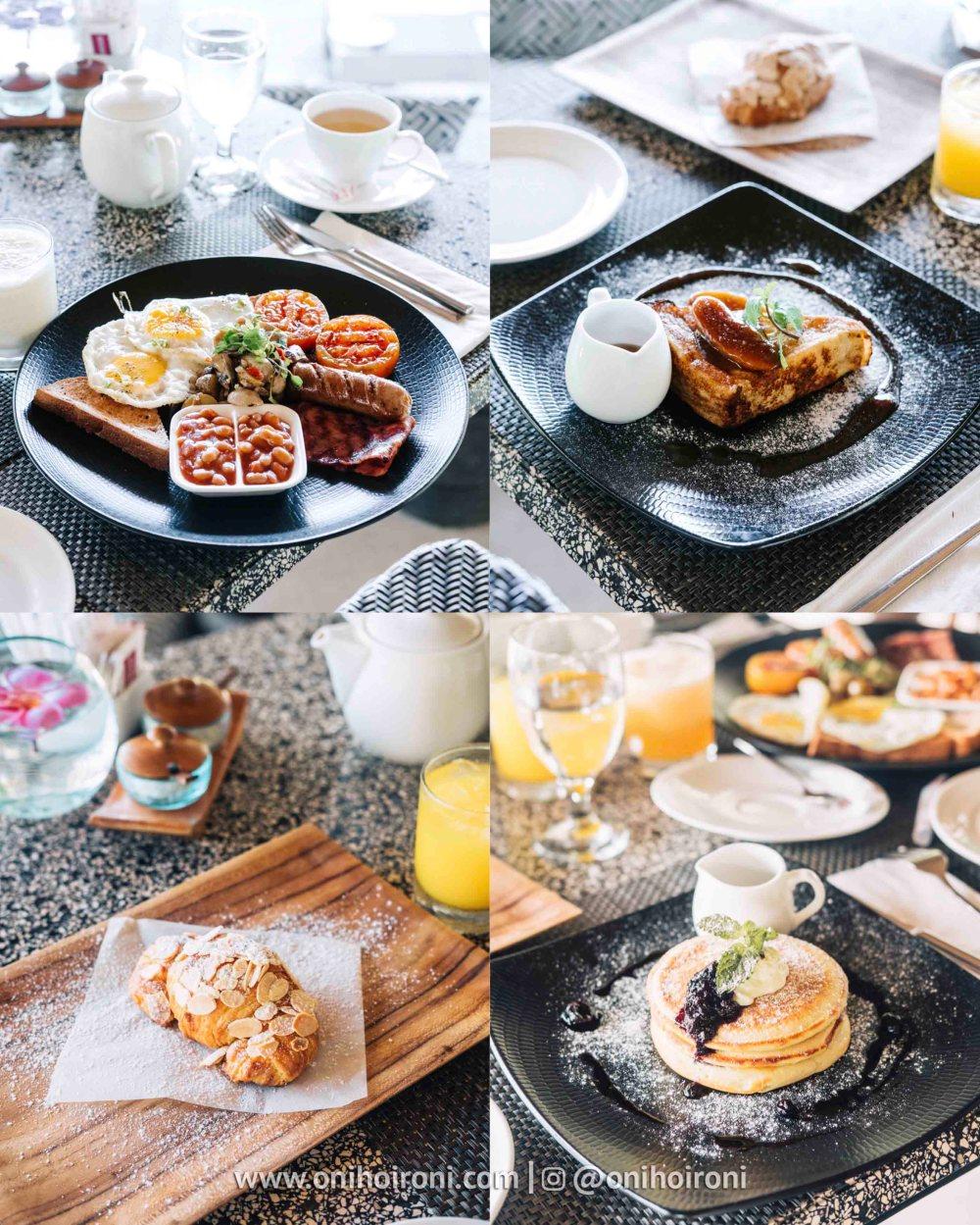 1 Breakfast olah-olah restaurant Sudamala Suites & Villas Senggigi, Lombok.jpg