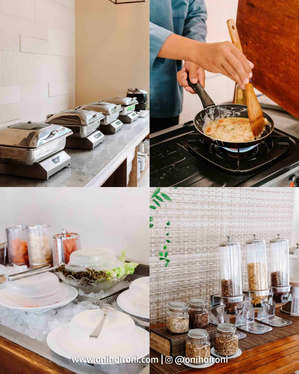 1 Breakfast review Wyndham Sundancer Resort Lombok onihoironi