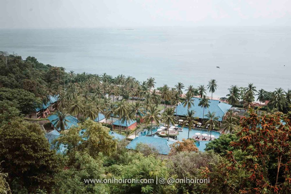 1 location review Wyndham Sundancer Resort Lombok onihoironi