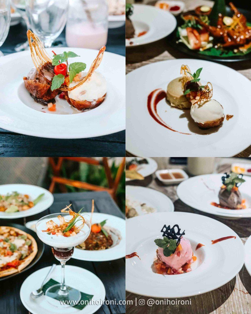 1 Menu alacarte olah-olah restaurant Sudamala Suites & Villas Senggigi, Lombok