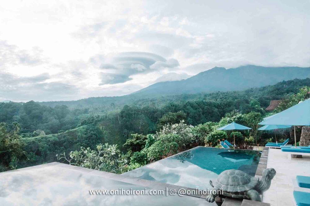 1 review Swimming pool rinjani lodge lombok onihoironi