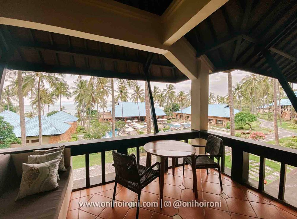 1 Room review Wyndham Sundancer Resort Lombok onihoironi