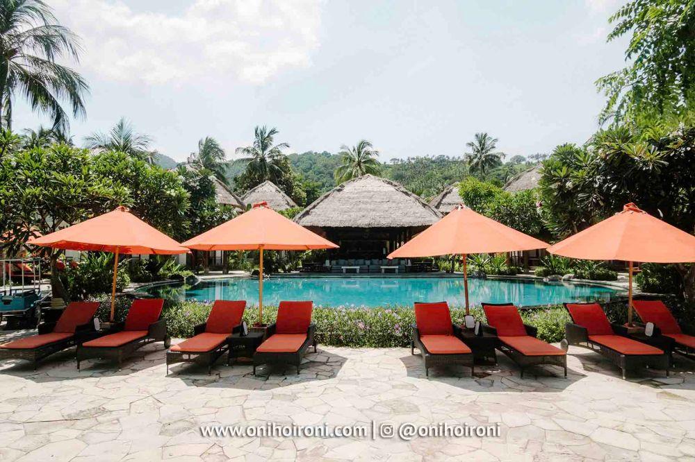 1 Swimming Pool Sudamala Suites & Villas Senggigi, Lombok