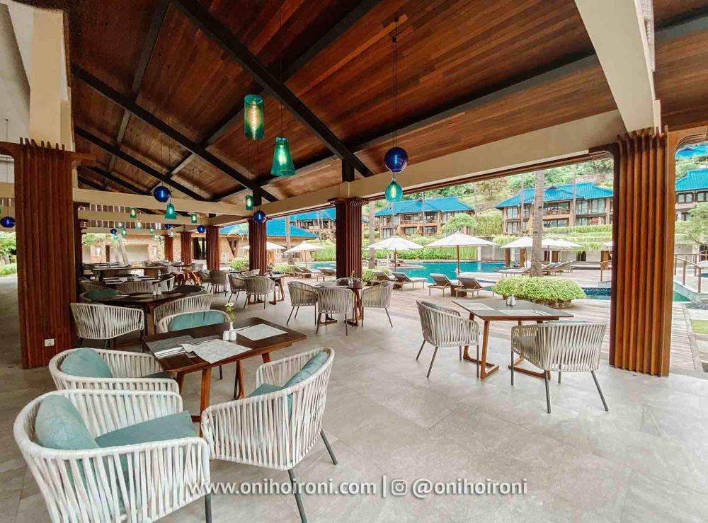 2 Restaurant review Wyndham Sundancer Resort Lombok onihoironi