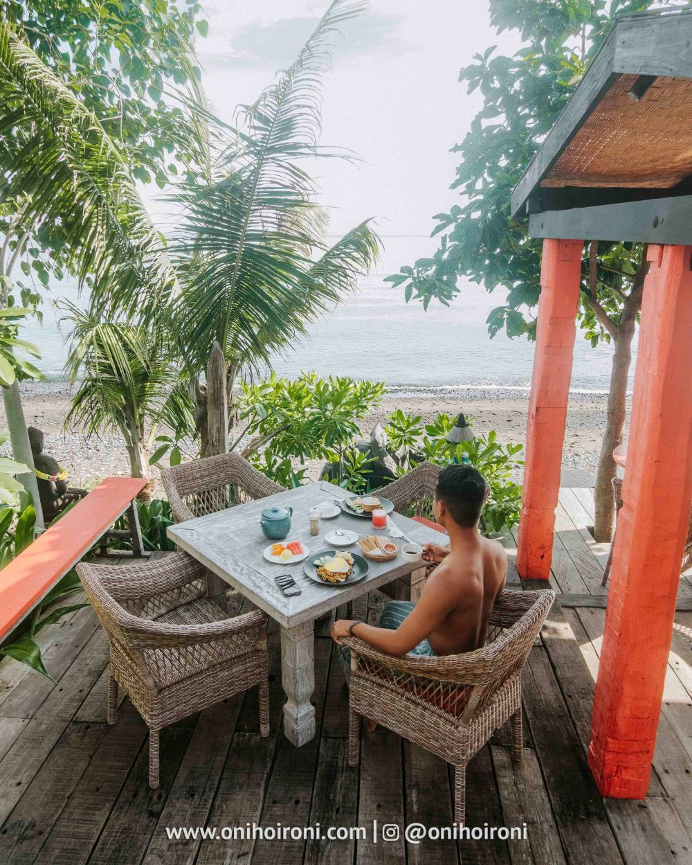2 review Amed lodge by sudamala resort oni hoironi