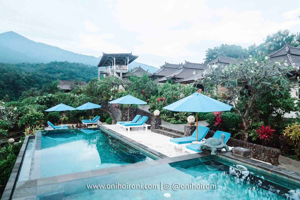 2 review Swimming pool rinjani lodge lombok onihoironi