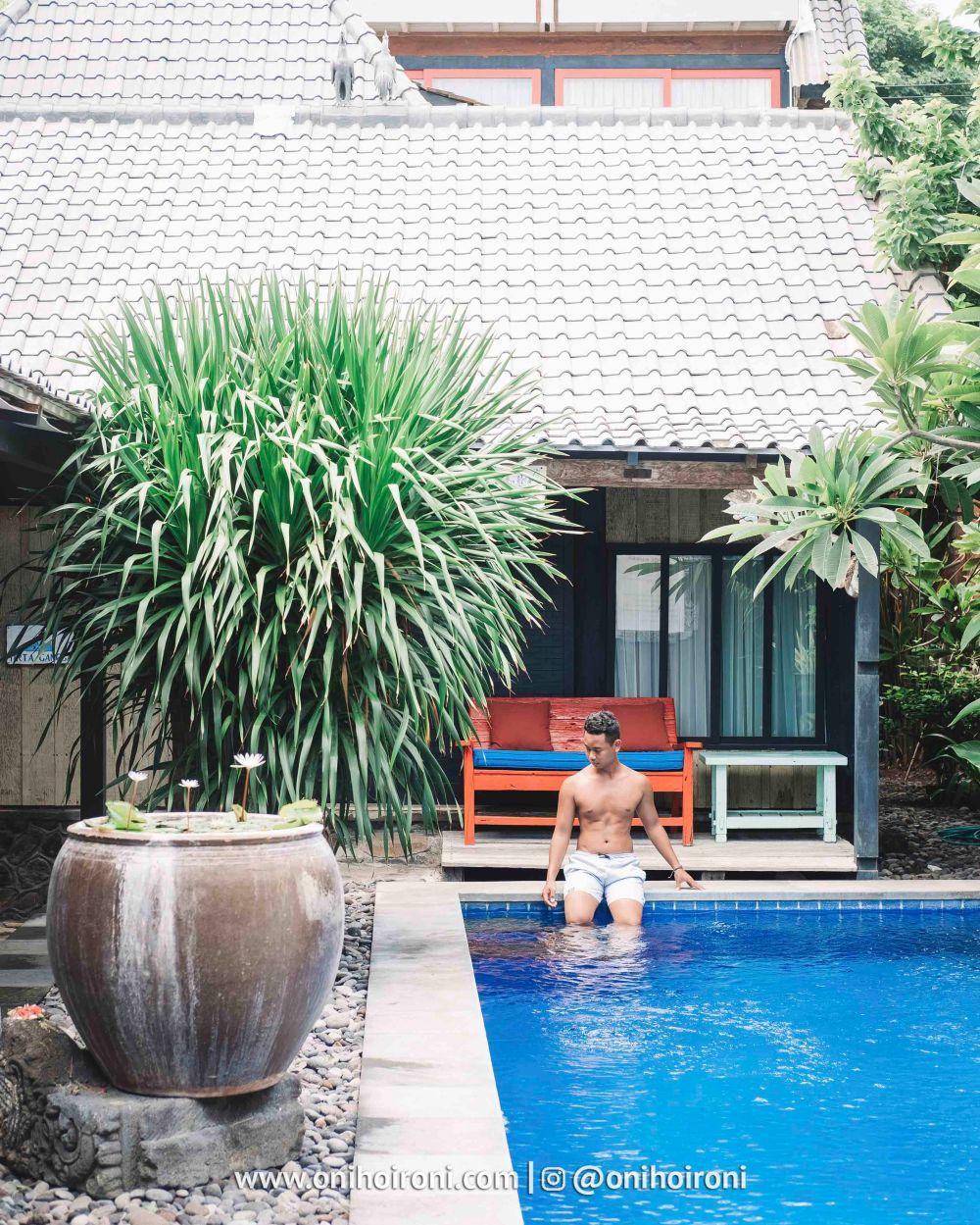 2. review Amed lodge by sudamala resort oni hoironi