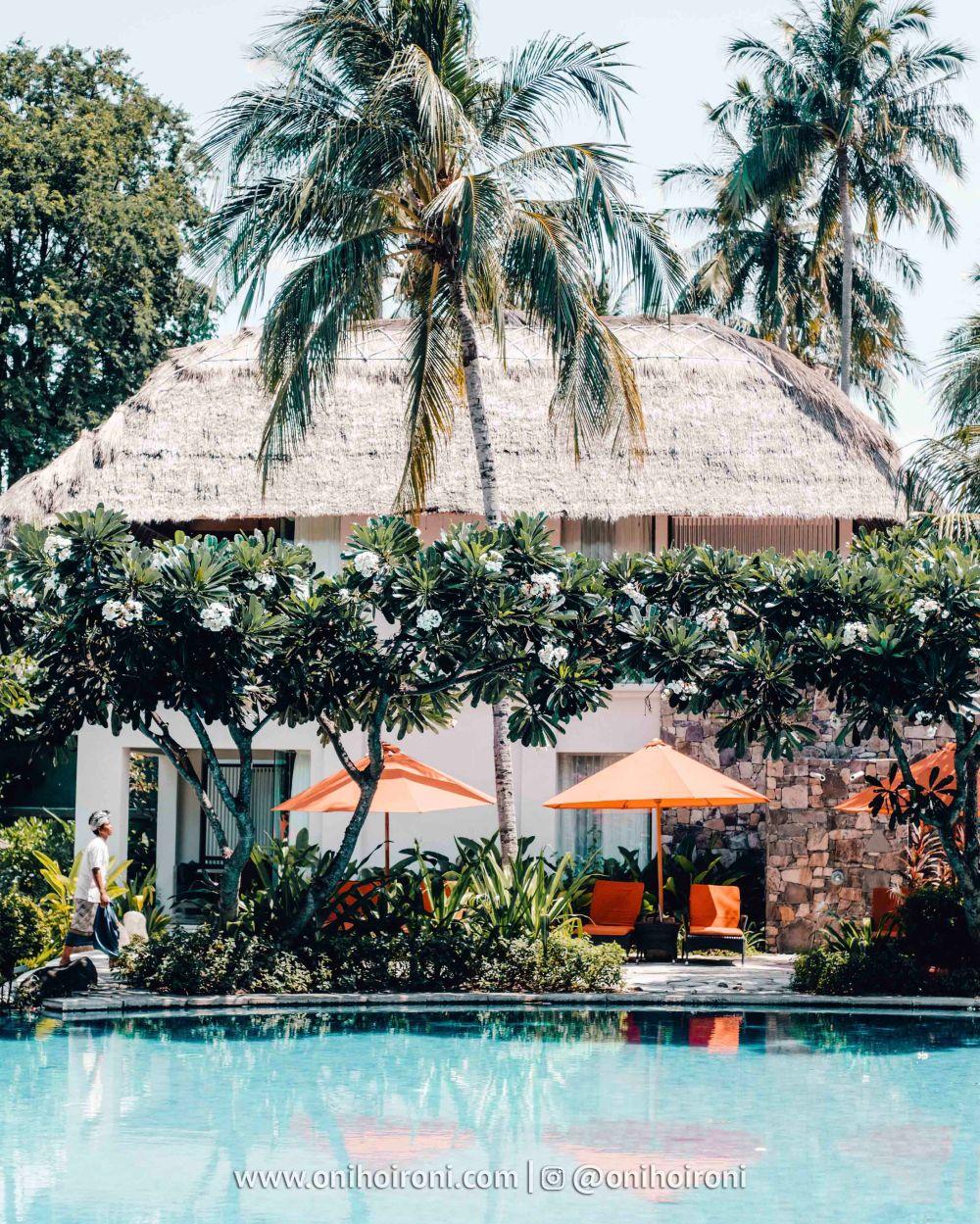 3 kolam renang Sudamala Suites & Villas Senggigi, Lombok