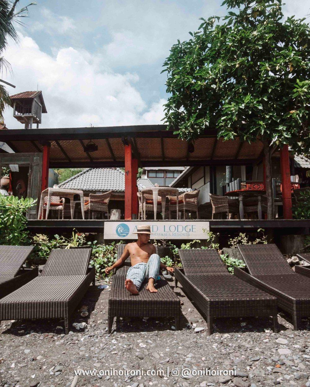 3 review Amed lodge by sudamala resort oni hoironi copy