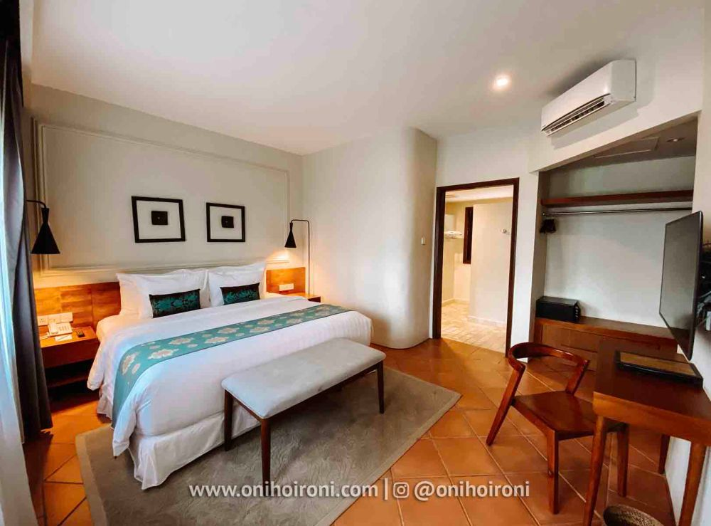 3 Room review Wyndham Sundancer Resort Lombok onihoironi
