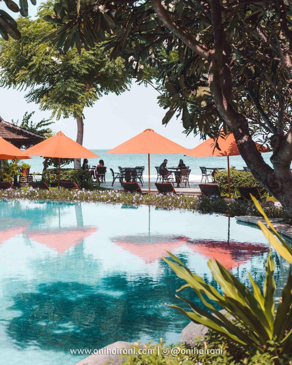 4 kolam renang Sudamala Suites & Villas Senggigi, Lombok