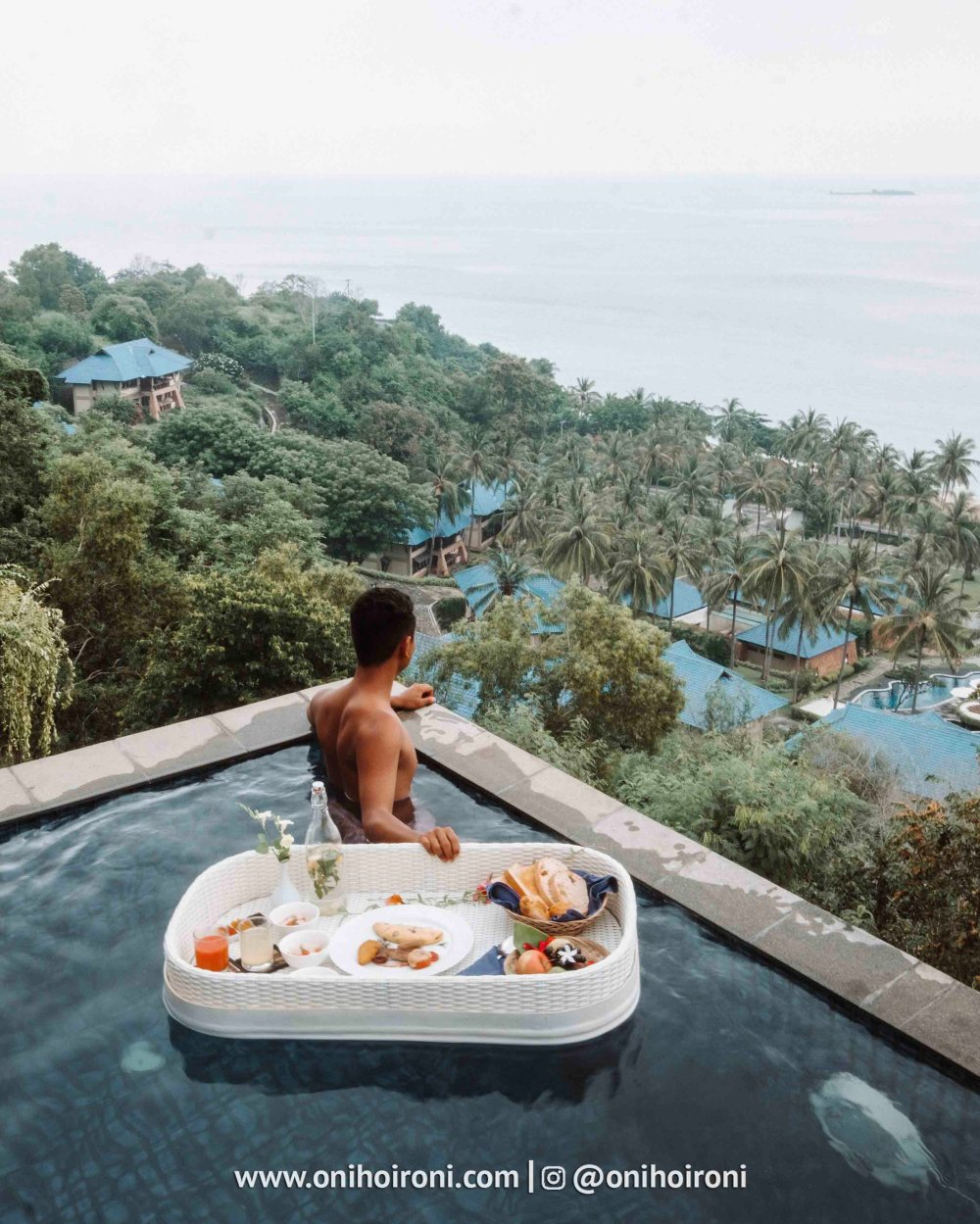 4 Private Villareview Wyndham Sundancer Resort Lombok onihoironi