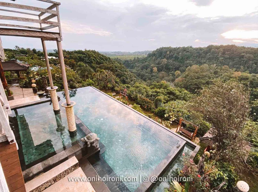 4 review Swimming pool rinjani lodge lombok onihoironi