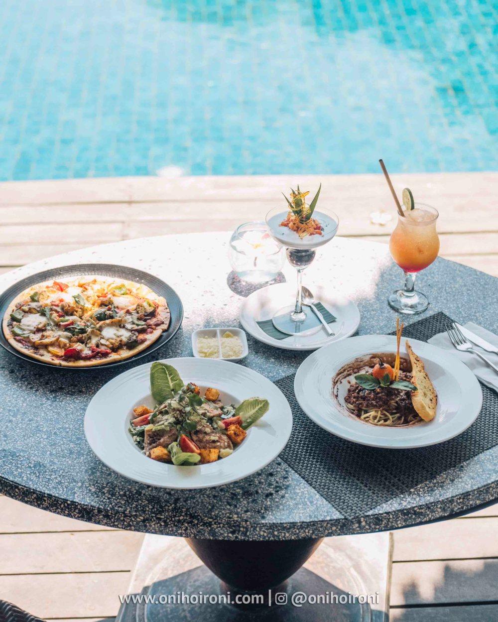 5 Menu alacarte olah-olah restaurant Sudamala Suites & Villas Senggigi, Lombok
