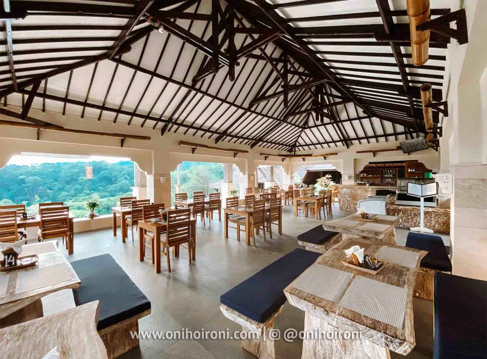 5 review restaurant Rinjani Lodge oni hoironi