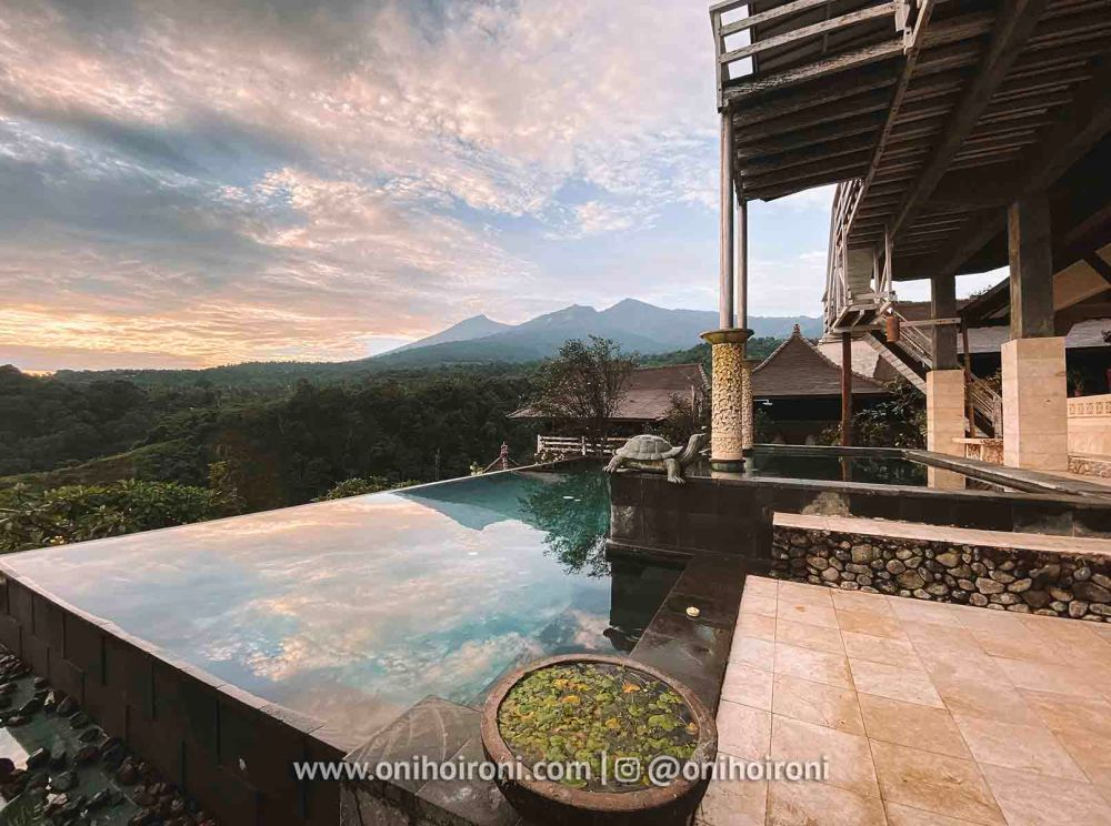 5 review Swimming pool rinjani lodge lombok onihoironi