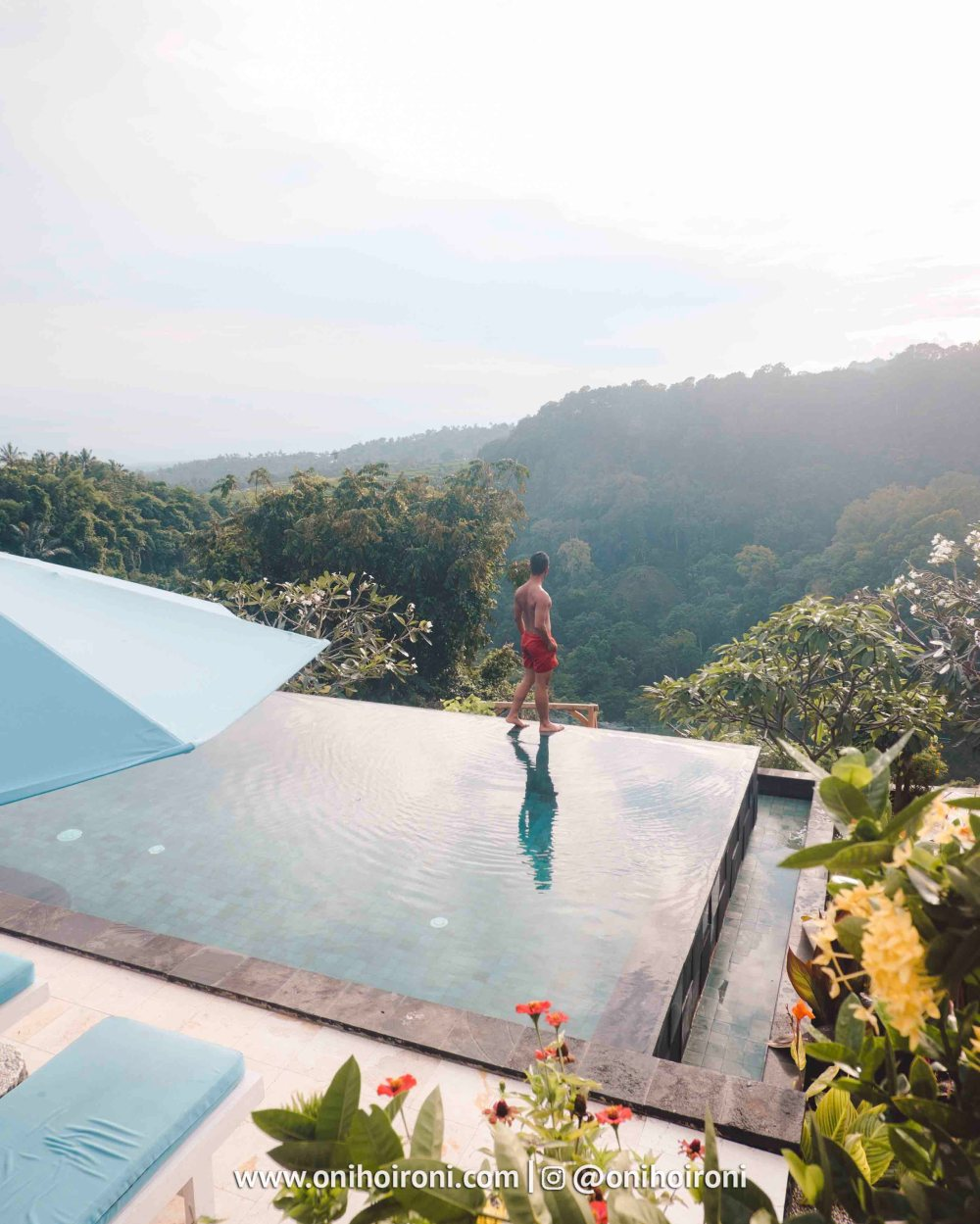 5 Swimming pool review rinjani lodge lombok onihoironi