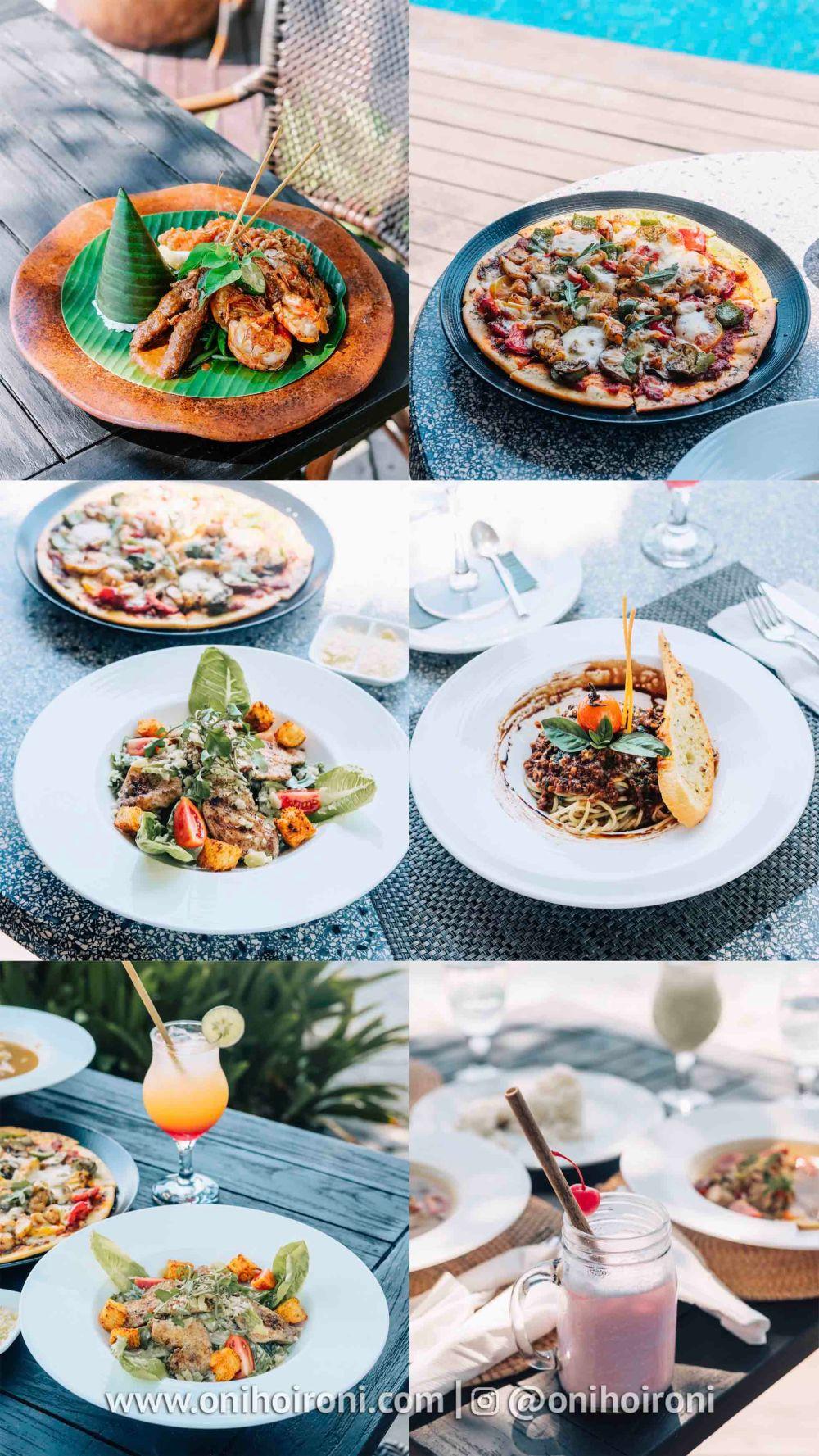 6 Menu alacarte olah-olah restaurant Sudamala Suites & Villas Senggigi, Lombok