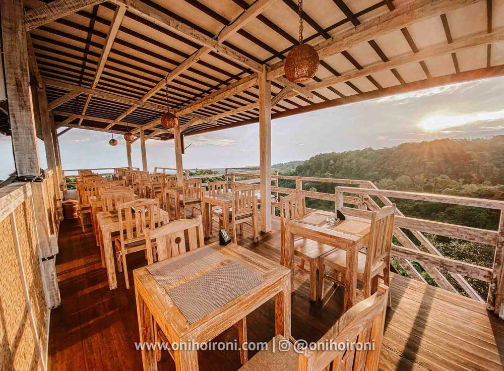 6 review restaurant Rinjani Lodge oni hoironi