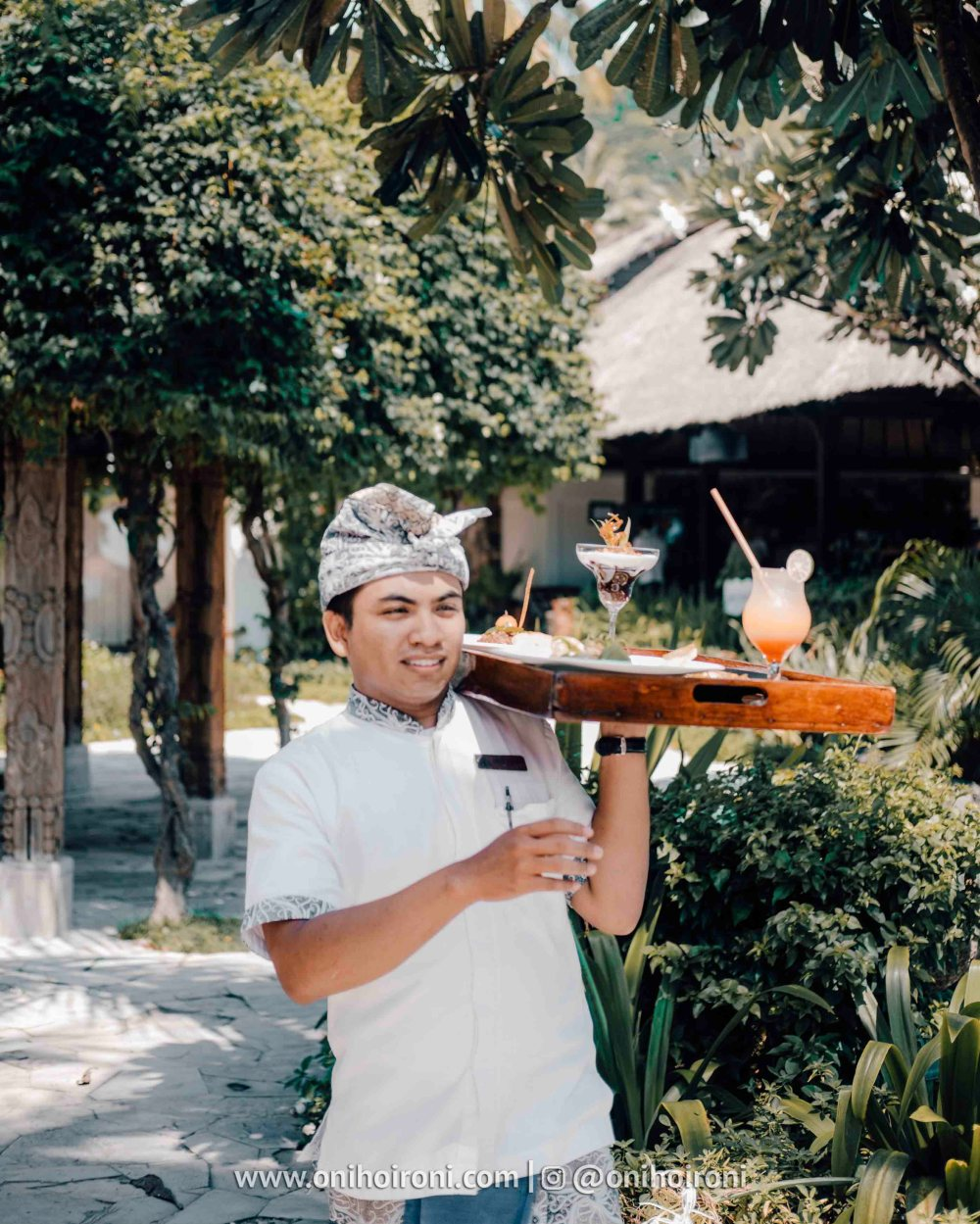 olah-olah restaurant Sudamala Suites & Villas Senggigi, Lombok